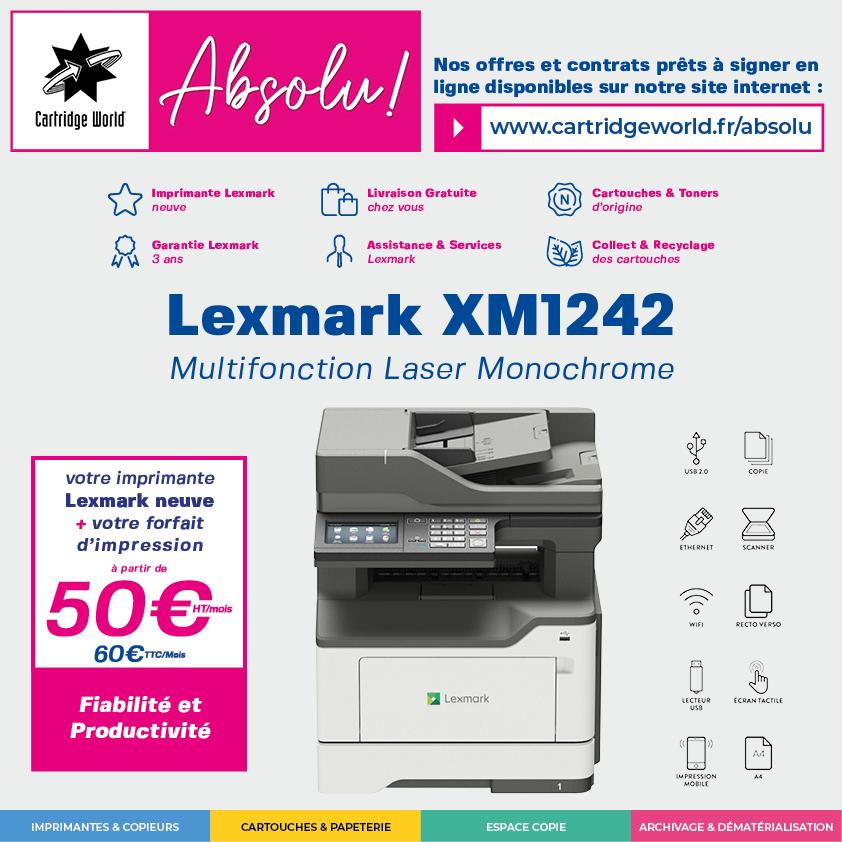 Absolu ! Lexmark XM1242